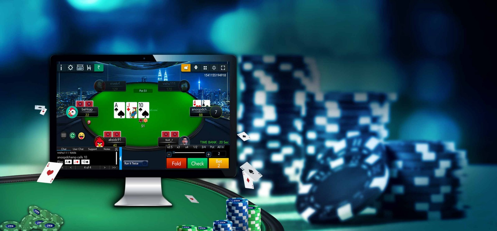 Greater Challenges with Online Poker Now